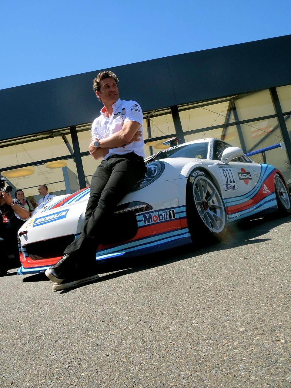 Patrick Dempsey Drives Porsche Supercup At Hockenheim Awr