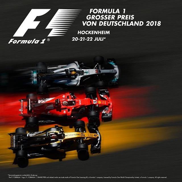 Gewinne 2 F1 Tickets für den GP von Deutschland 2018